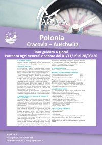 1 Polonia-Cracovia-Auschwitz-Tour-guidato-4-giorni-CITTà-offerte-agenzia-di-viaggi-Bari-AQVATRAVEL-it