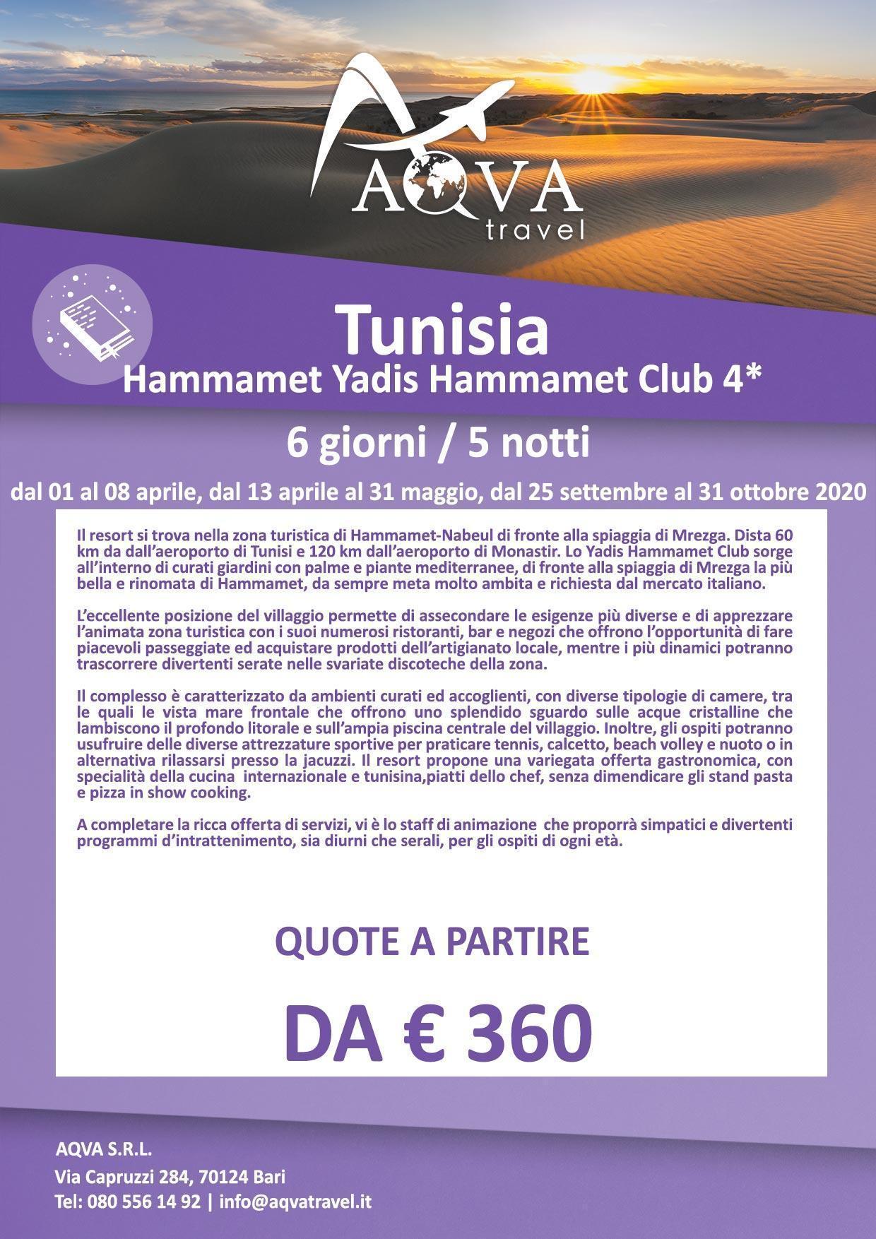 1-Tunisia-Hammamet-Yadis-Hammamet-Club-Cultura-offerte-agenzia-di-viaggi-Bari-AQVATRAVEL-it
