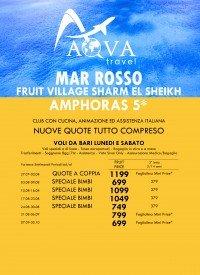 MAR ROSSO FRUIT VILLAGE SHARM EL SHEIKH AMPHORAS 5*