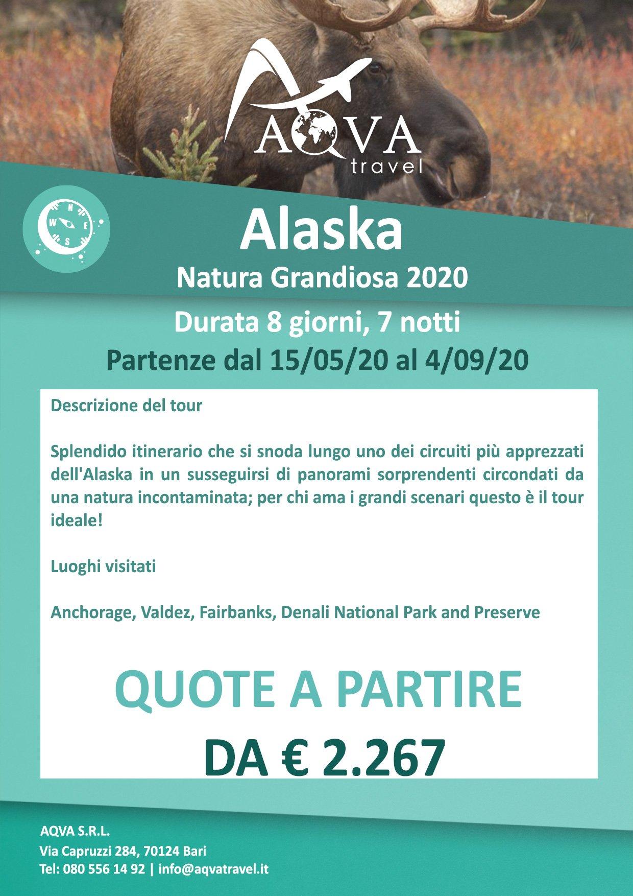 Alaska-Natura-Grandiosa-Avventura-offerte-agenzia-di-viaggi-Bari-AQVATRAVEL-it