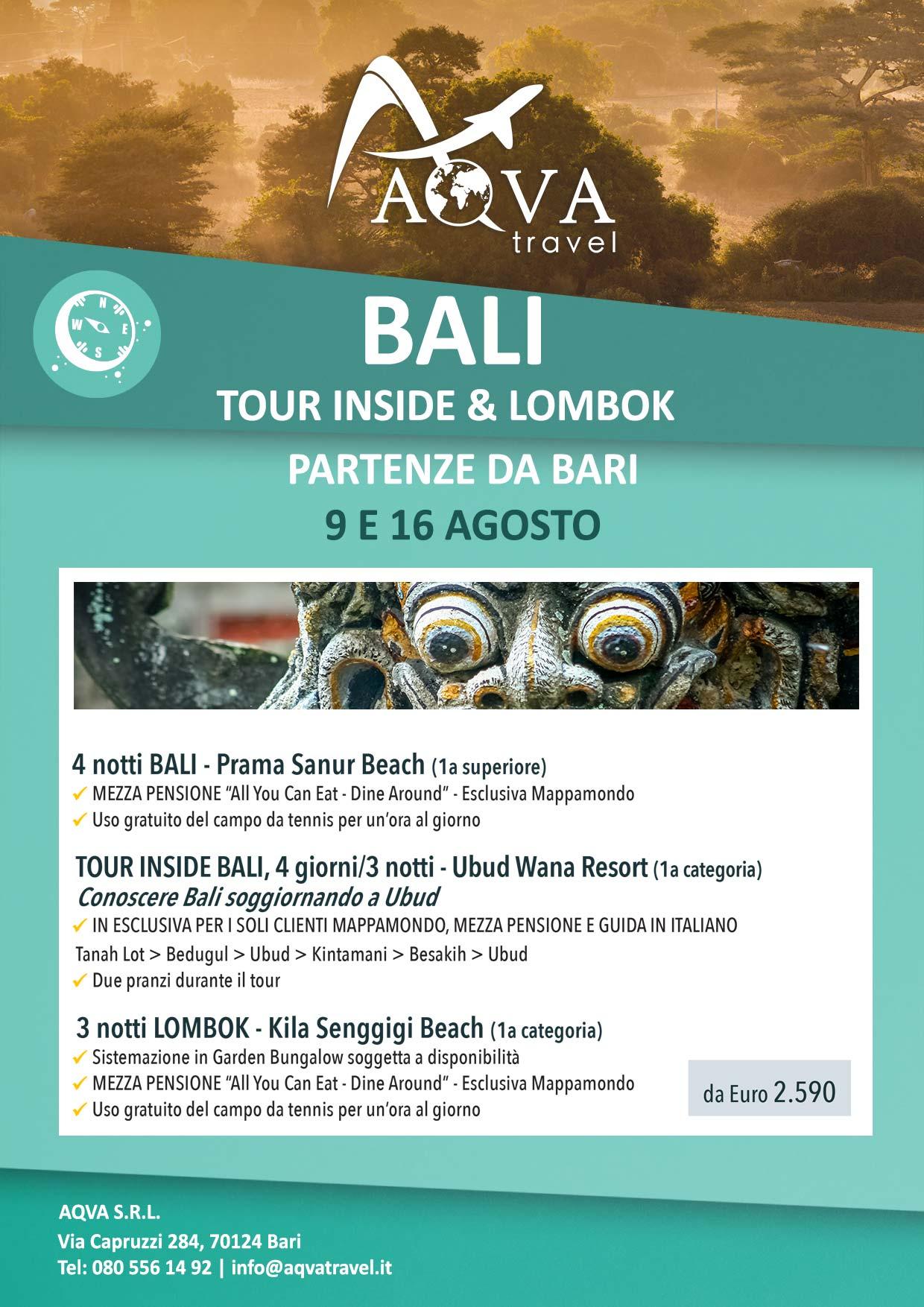 BALI-TOUR-INSIDE-&-LOMBOK---PARTENZE-DA-BARI-Avventura-offerte-agenzia-di-viaggi-Bari-AQVATRAVEL-it