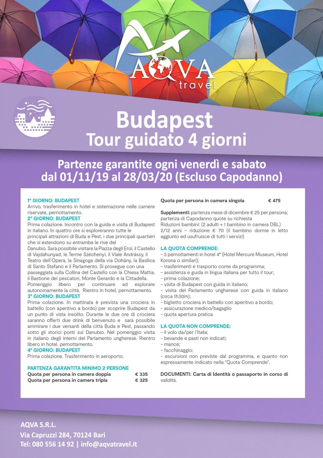 Budapest-Tour-guidato-4-giorni-Partenze-garantite-ogni-venerdì-e-sabato-CITTà-offerte-agenzia-di-viaggi-Bari-AQVATRAVEL-it