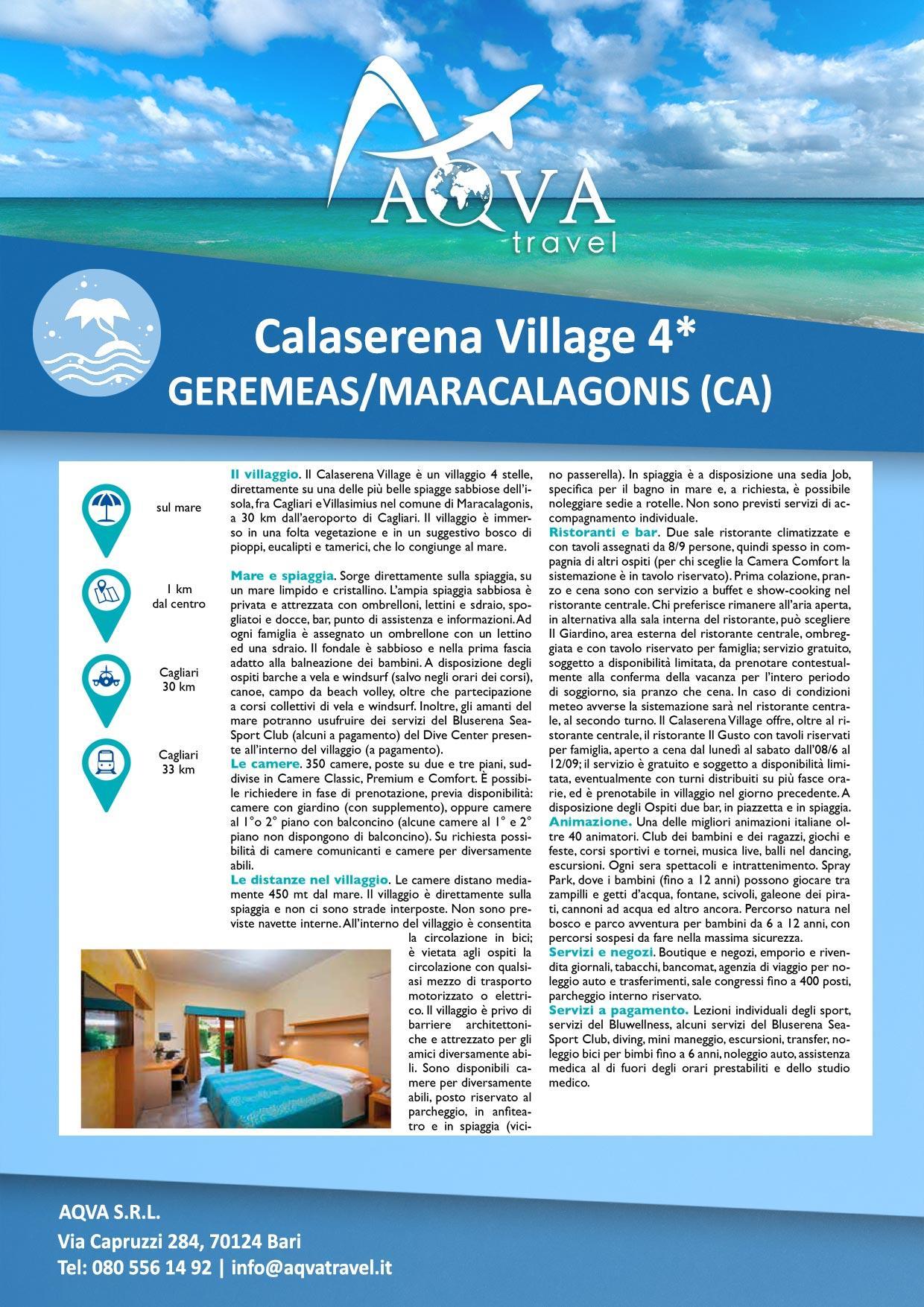Calaserena-Village-Mare-offerte-agenzia-di-viaggi-Bari-AQVATRAVEL-it