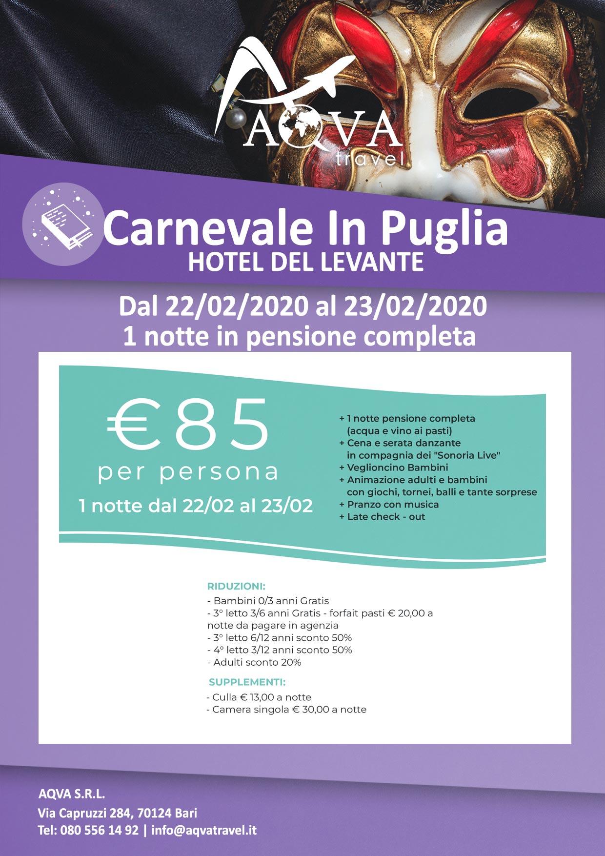 Carnevale-In-Puglia-HOTEL-DEL-LEVANTE-Cultura-offerte-agenzia-di-viaggi-Bari-AQVATRAVEL-it