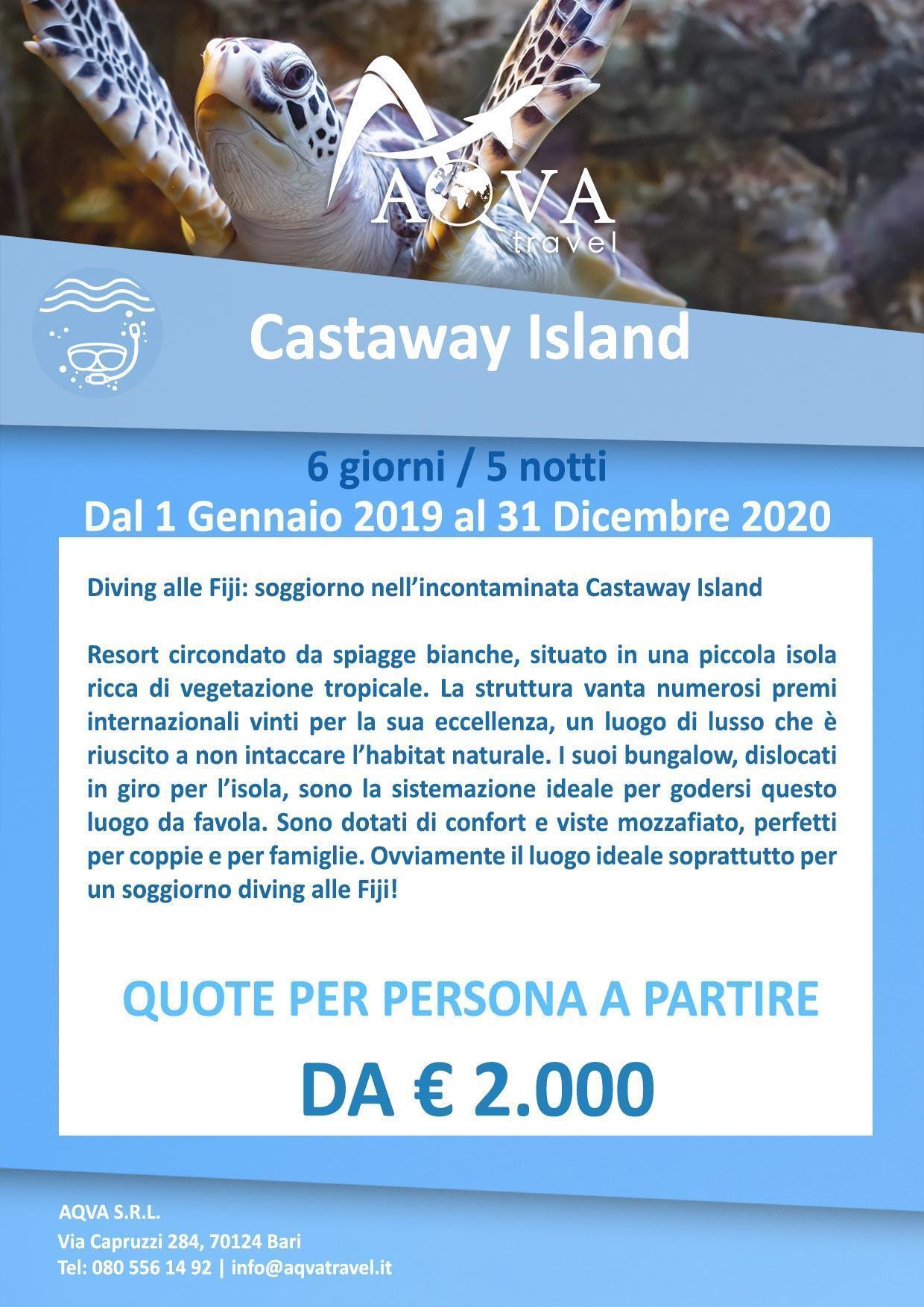 Castaway-Island-subacquea-offerte-agenzia-di-viaggi-Bari-AQVATRAVEL-it