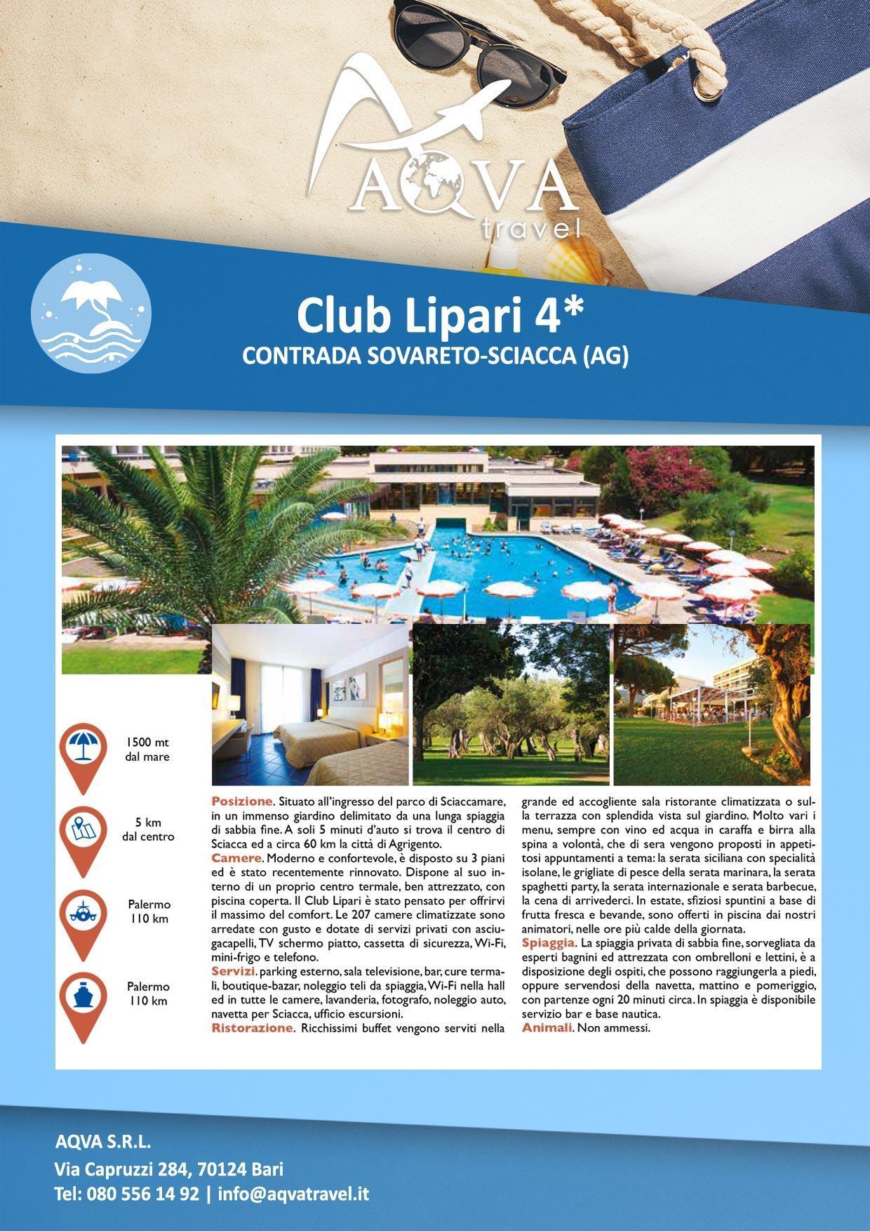 Club-Lipari---Mare-offerte-agenzia-di-viaggi-Bari-AQVATRAVEL-it
