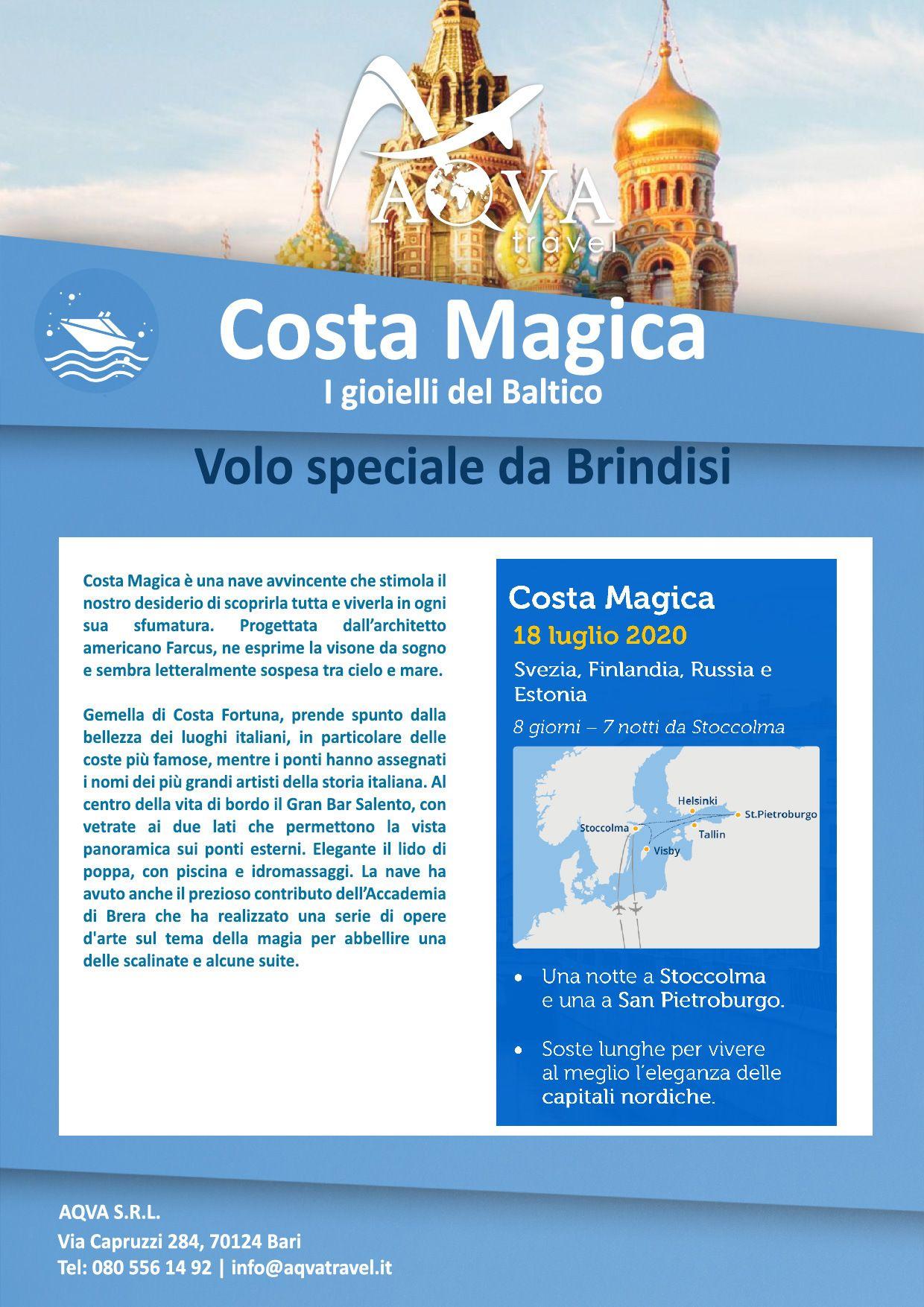Costa-Magica-Crociera-offerte-agenzia-di-viaggi-Bari-AQVATRAVEL-it