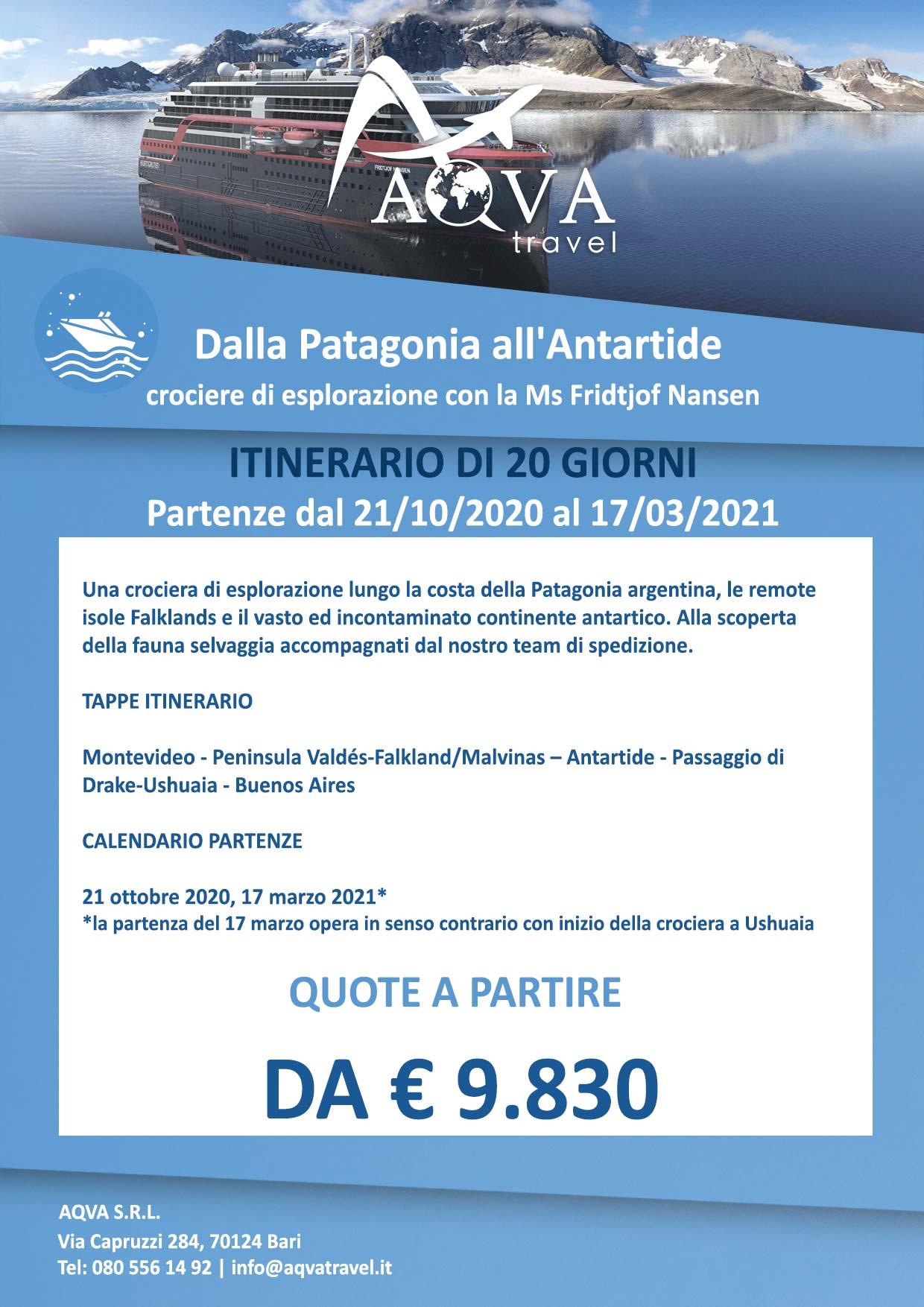 Dalla-Patagonia-all'Antartide-Crociera-offerte-agenzia-di-viaggi-Bari-AQVATRAVEL-it