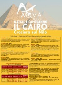 NATALE E CAPODANNO Crociera sul Nilo e Il Cairo