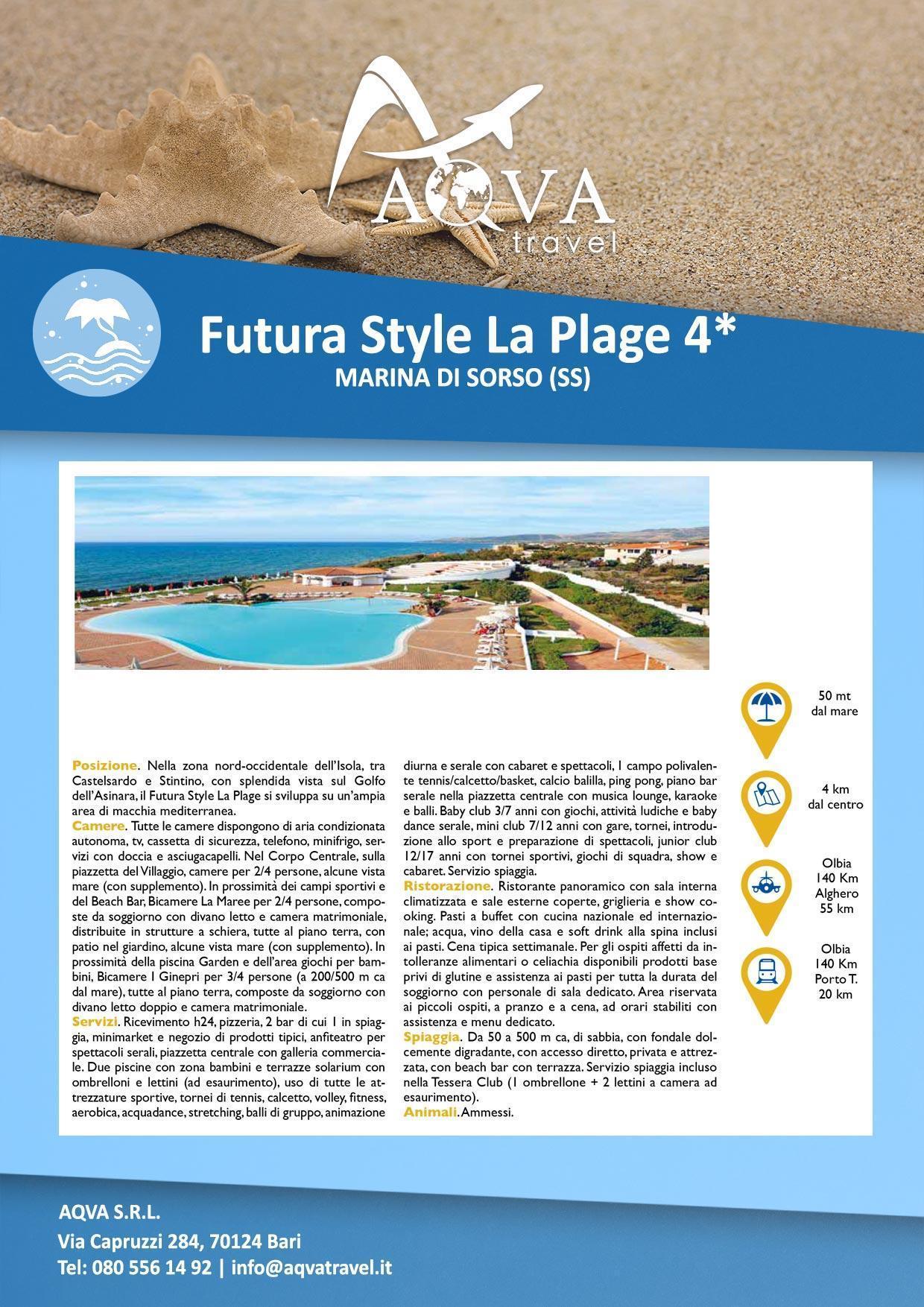 Futura-Style-La-Plage-4-Mare-offerte-agenzia-di-viaggi-Bari-AQVATRAVEL-it