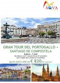 GRAN TOUR DEL PORTOGALLO + SANTIAGO DE COMPOSTELA