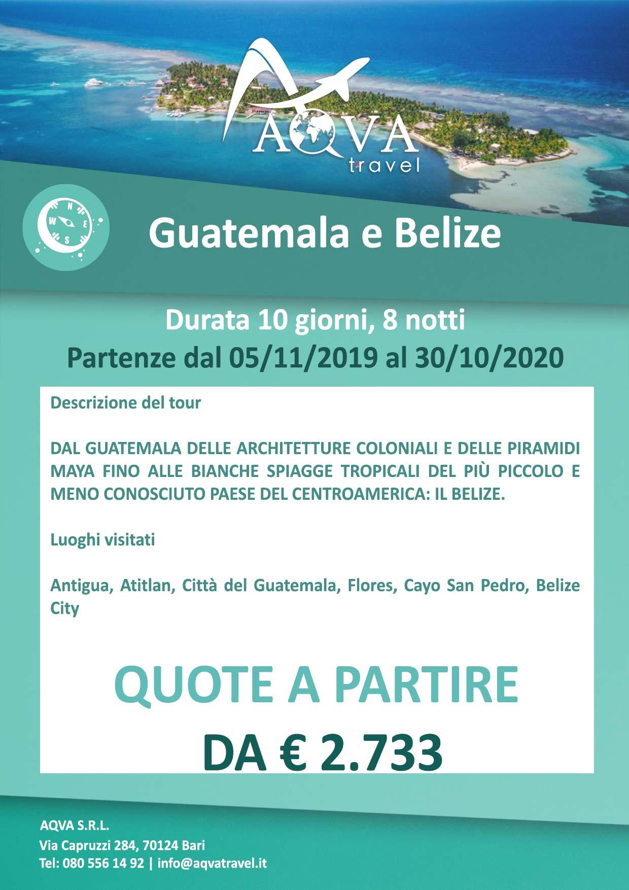Guatemala-e-Belize-Durata-10-giorni--8-notti-Avventura-offerte-agenzia-di-viaggi-Bari-AQVATRAVEL-it