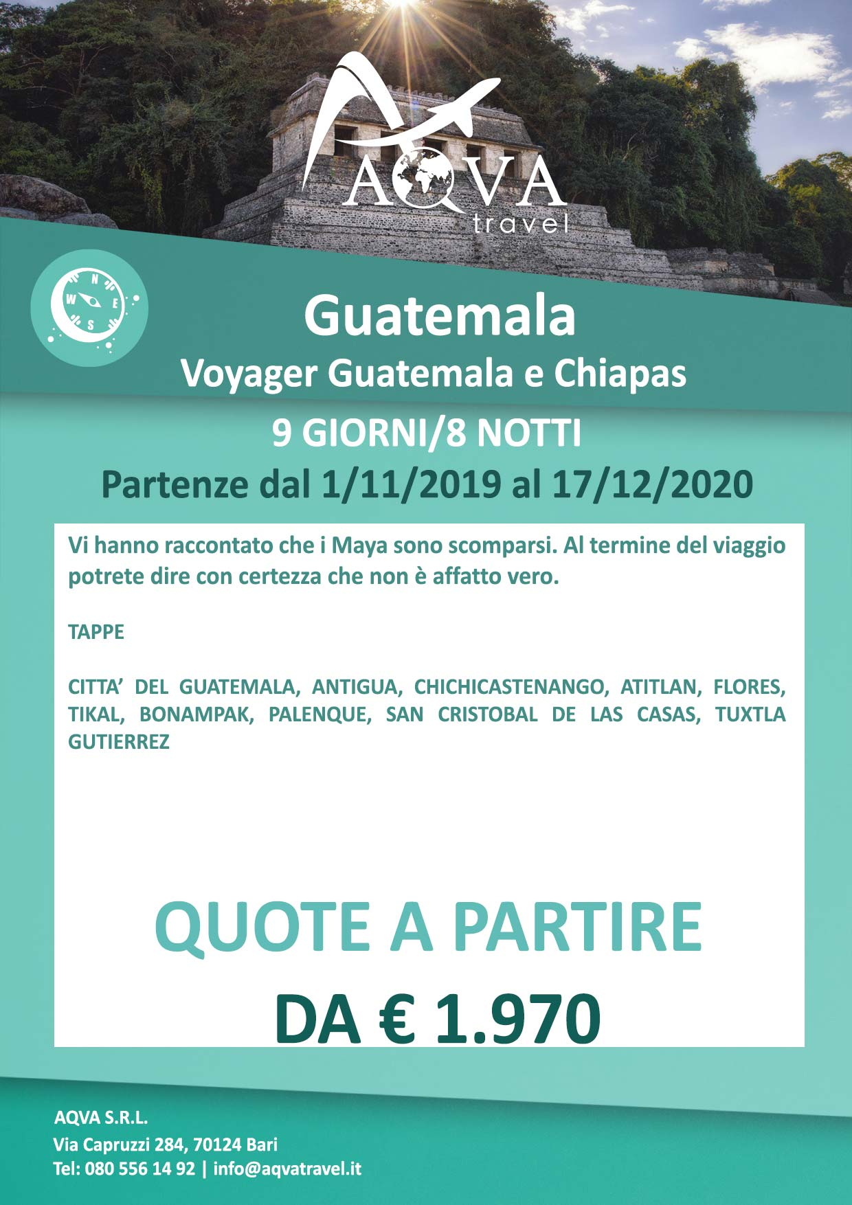 Guatemala-e-Chiapas-9-GIORNI-8-NOTTI-Avventura-offerte-agenzia-di-viaggi-Bari-AQVATRAVEL-it