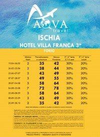 ISCHIA HOTEL VILLA FRANCA 3* FORIO
