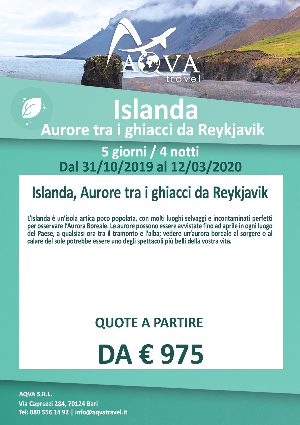 Islanda-Aurore-tra-i-ghiacci-da-Reykjavik-NATURA-offerte-agenzia-di-viaggi-Bari-AQVATRAVEL-it