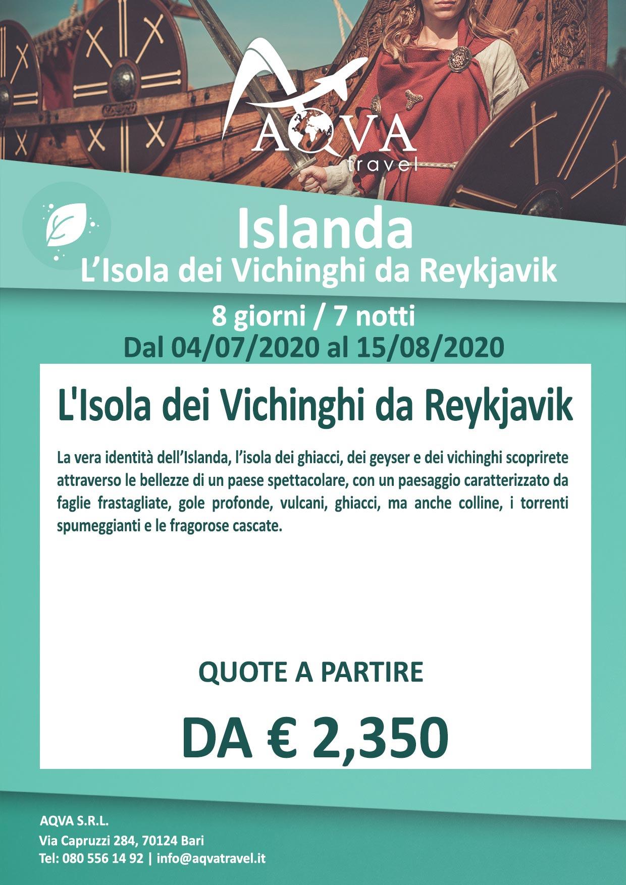 Islanda-L'Isola-dei-Vichinghi-da-Reykjavik-NATURA-offerte-agenzia-di-viaggi-Bari-AQVATRAVEL-it