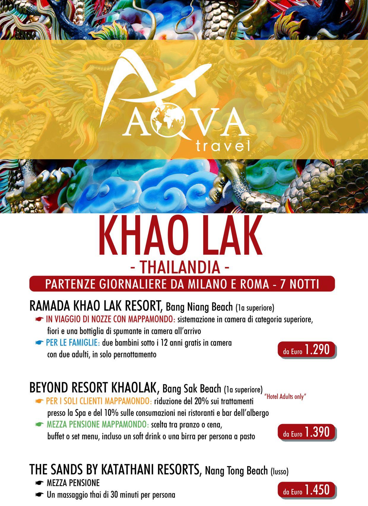 KHAO LAK - THAILANDIA -