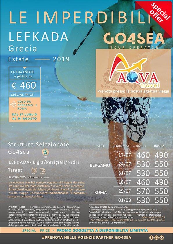 Ligia/Perigiali/Nidri - Agenzia Viaggi a Bari Aqva Travel