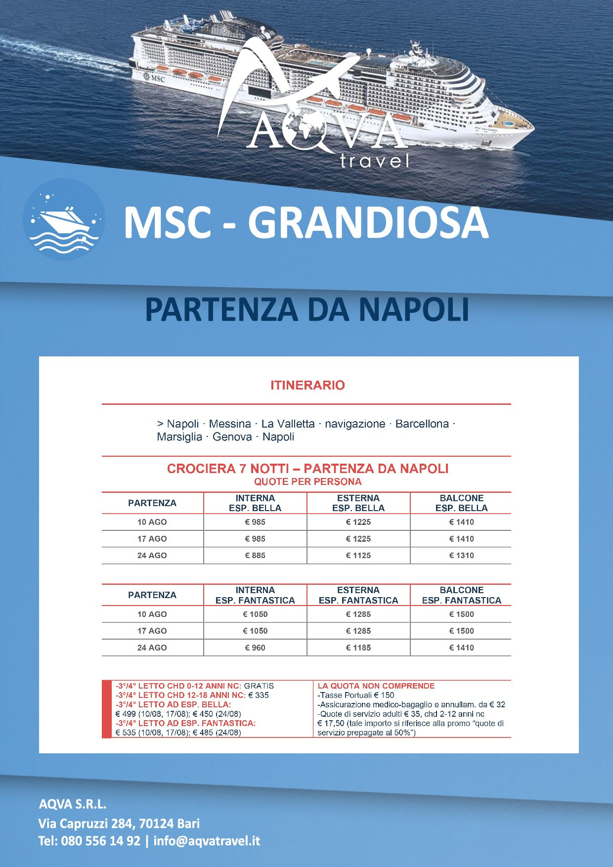 MSC-GRANDIOSA-Crociera-offerte-agenzia-di-viaggi-Bari-AQVATRAVEL-it