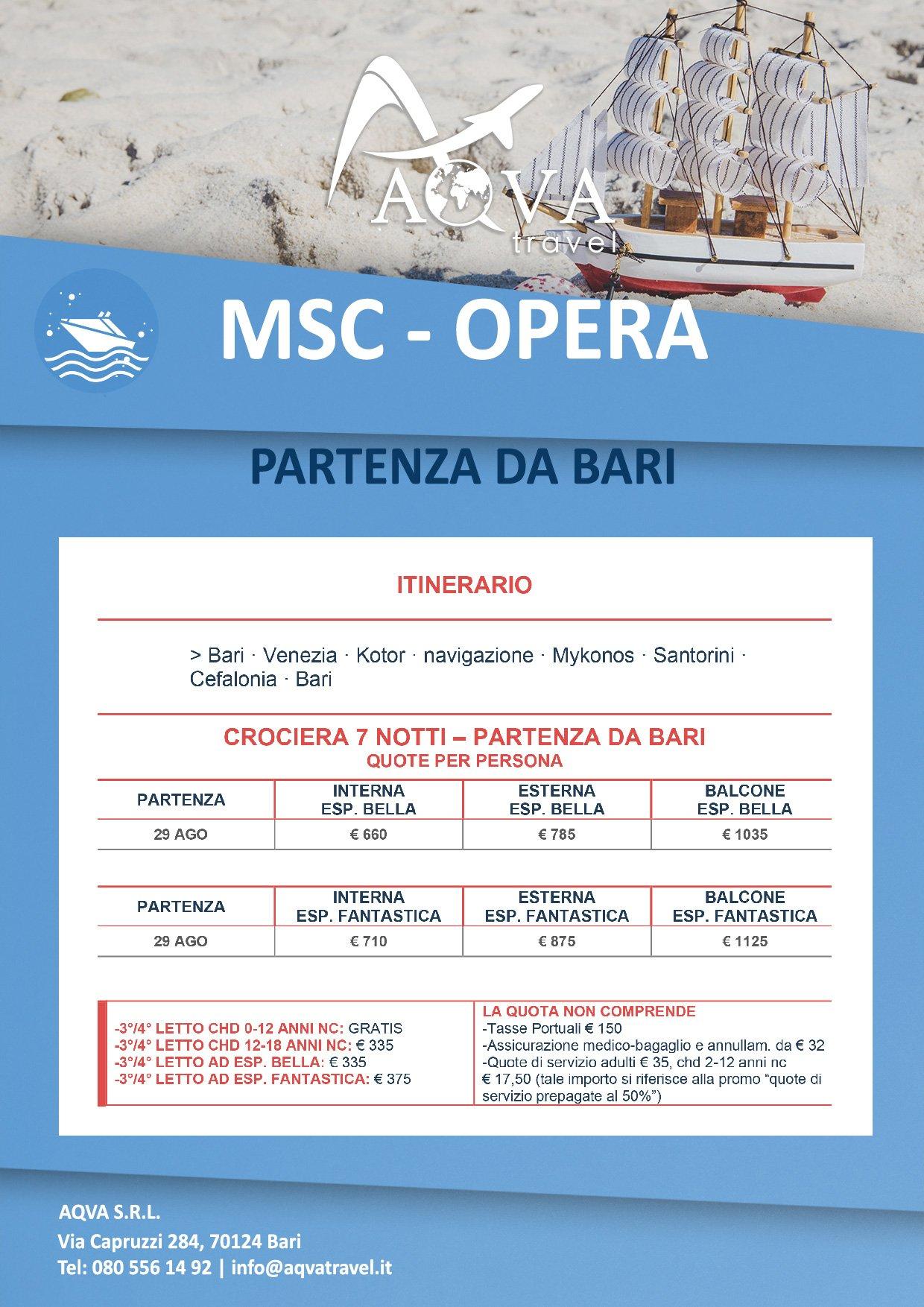 MSC-OPERA-Crociera-offerte-agenzia-di-viaggi-Bari-AQVATRAVEL-it