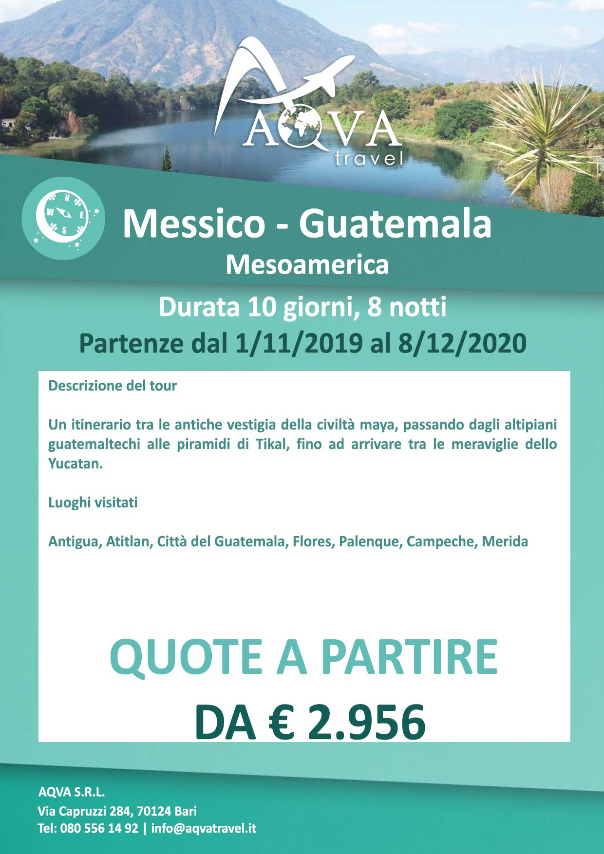 Messico-Guatemala-Avventura-offerte-agenzia-di-viaggi-Bari-AQVATRAVEL-itMessico-Guatemala-Avventura-offerte-agenzia-di-viaggi-Bari-AQVATRAVEL-it