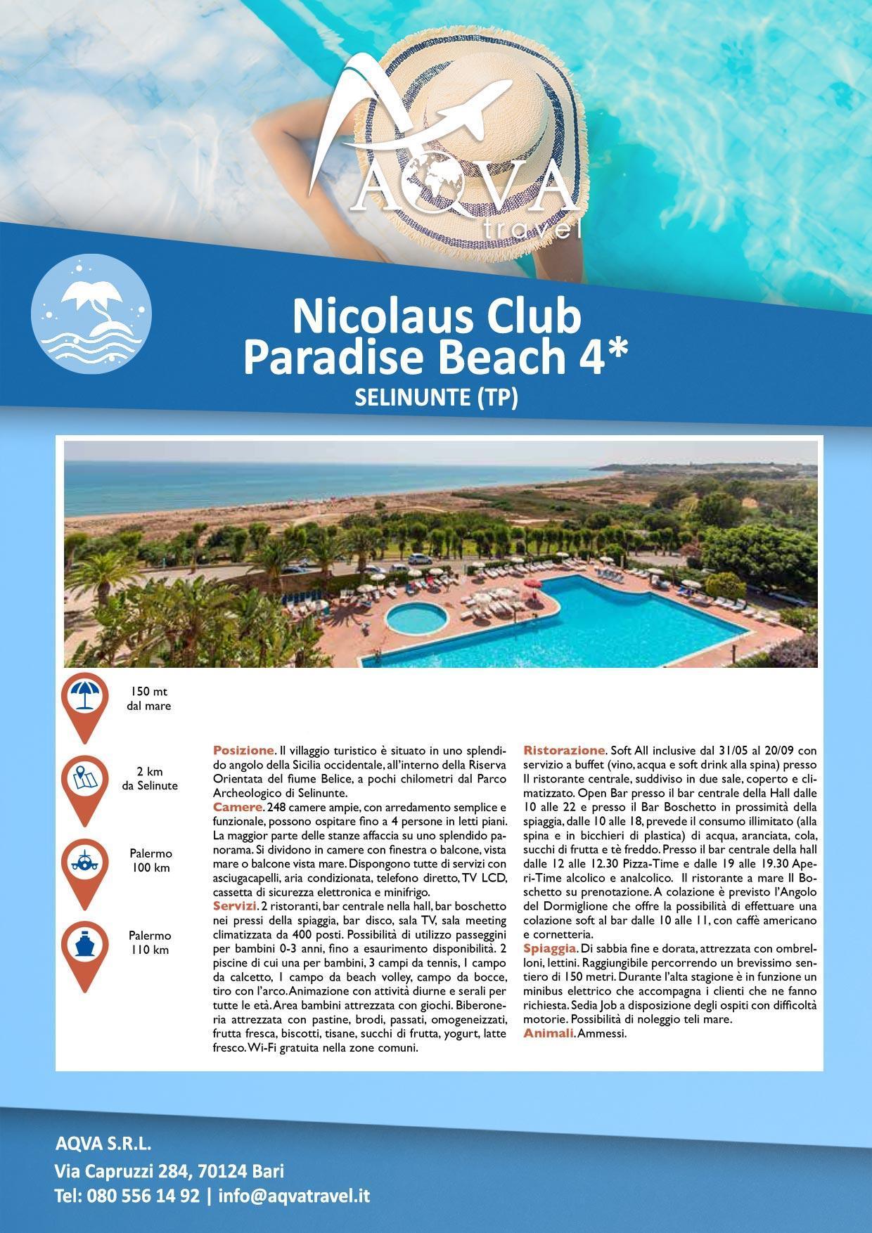 Nicolaus-Club-Paradise-Beach--Mare-offerte-agenzia-di-viaggi-Bari-AQVATRAVEL-it