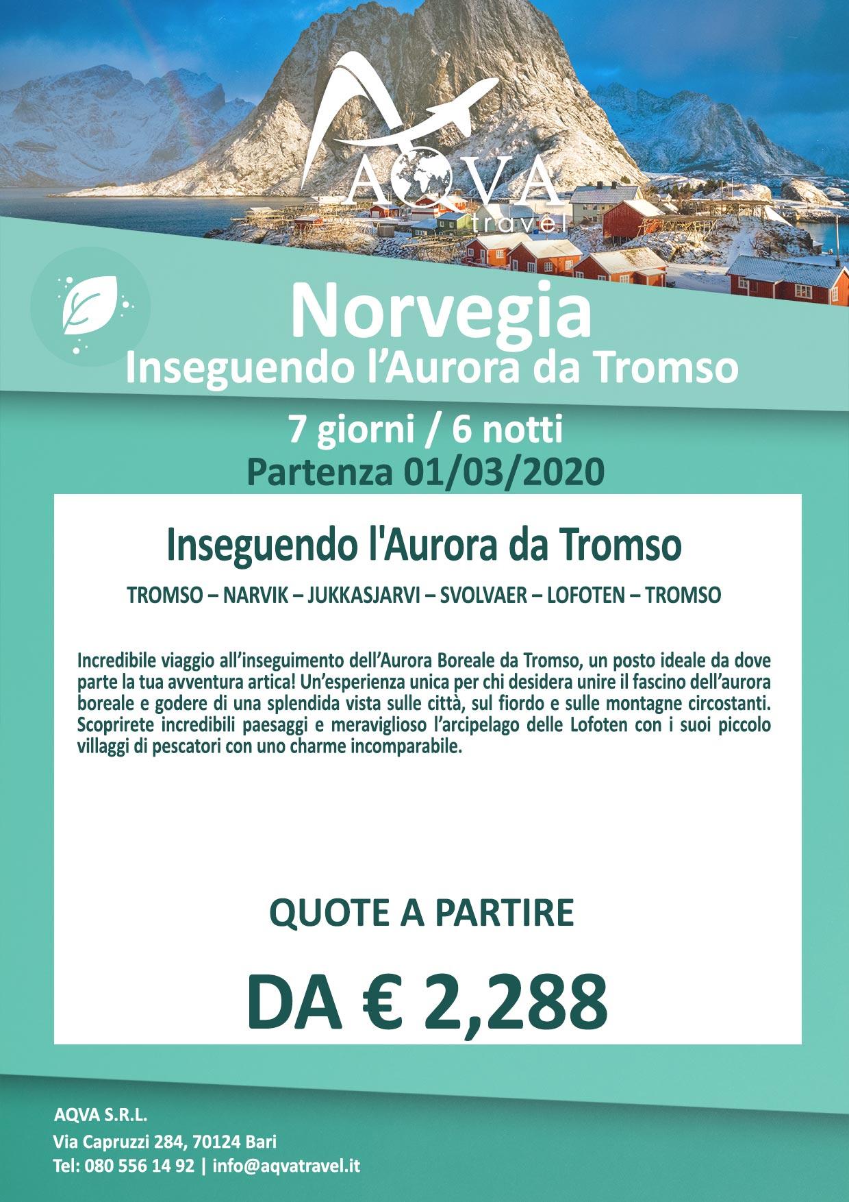 Norvegia-Inseguendo-l'Aurora-da-Tromso-NATURA-offerte-agenzia-di-viaggi-Bari-AQVATRAVEL-it