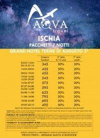 ISCHIA PACCHETTI 7 NOTTI GRAND HOTEL TERME DI AUGUSTO 5* LACCO AMENO