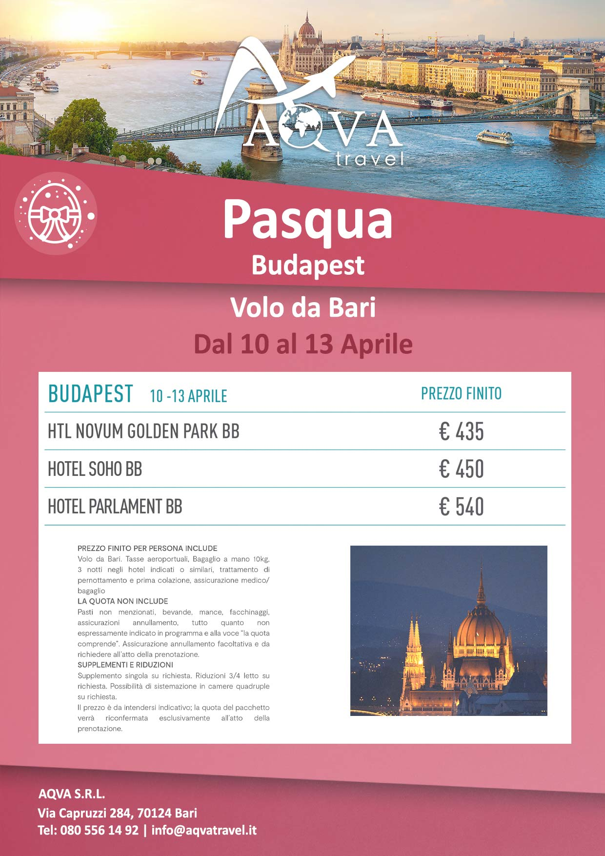 Pasqua-Budapest--Volo-da-Bari-Dal-10-al-13-Aprile-Pasqua-offerte-agenzia-di-viaggi-Bari-AQVATRAVEL-it