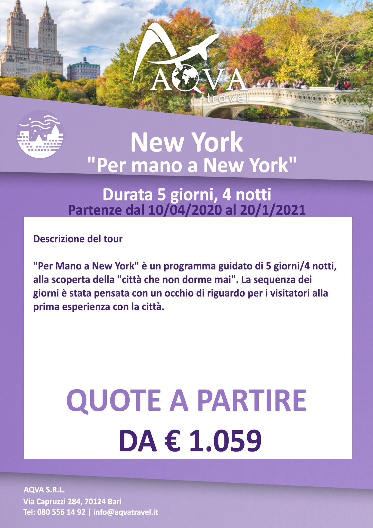 Per-mano-a-New-York-CITTà-offerte-agenzia-di-viaggi-Bari-AQVATRAVEL-it