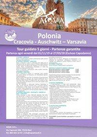Polonia-cracovia-auschwitz-varsavia-tour-guidato-5-giorni-CITTà-offerte-agenzia-di-viaggi-Bari-AQVATRAVEL-it
