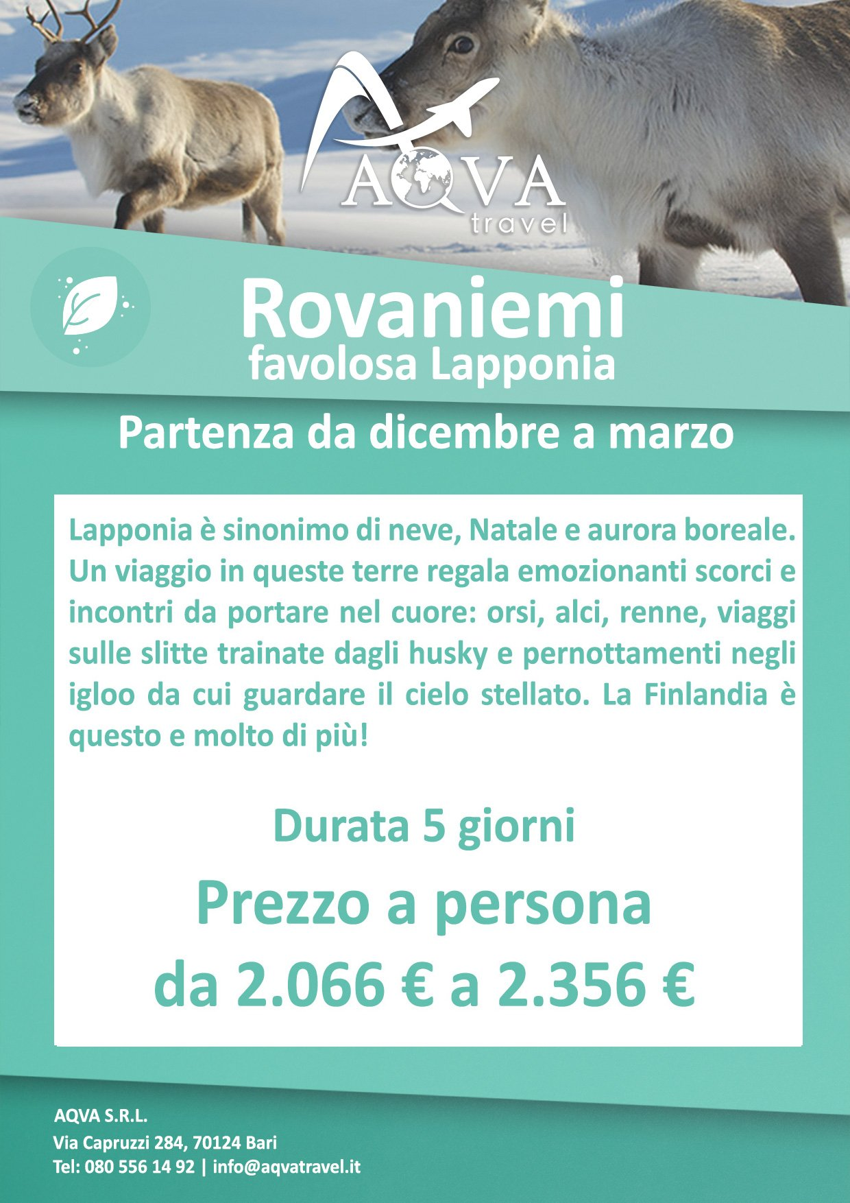 Rovaniemi-offerte-agenzia-di-viaggi-Bari-AQVATRAVEL-it