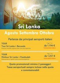 Sri Lanka -Agosto Settembre Ottobre -offerte viaggi