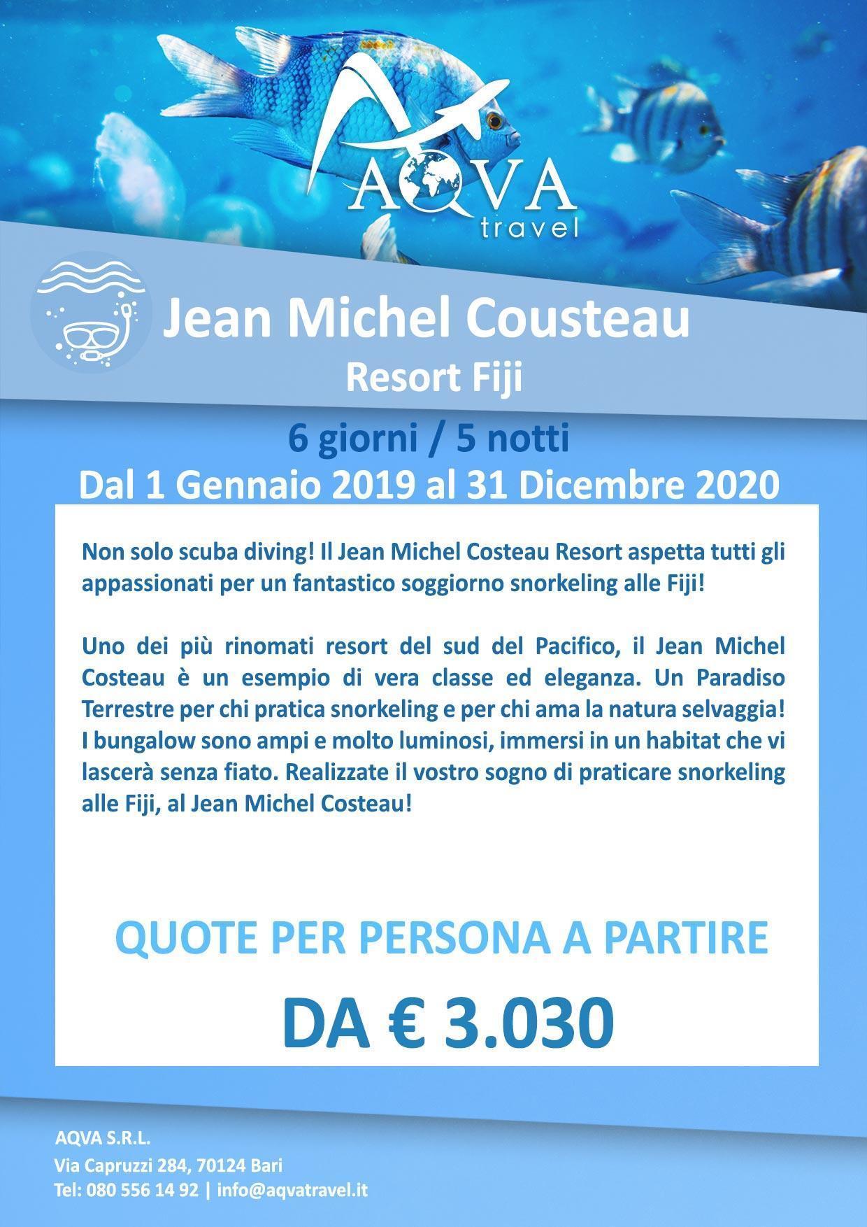Subacquea-Jean-Michel-Cousteau-Resort-Fiji-subacquea-offerte-agenzia-di-viaggi-Bari-AQVATRAVEL-it