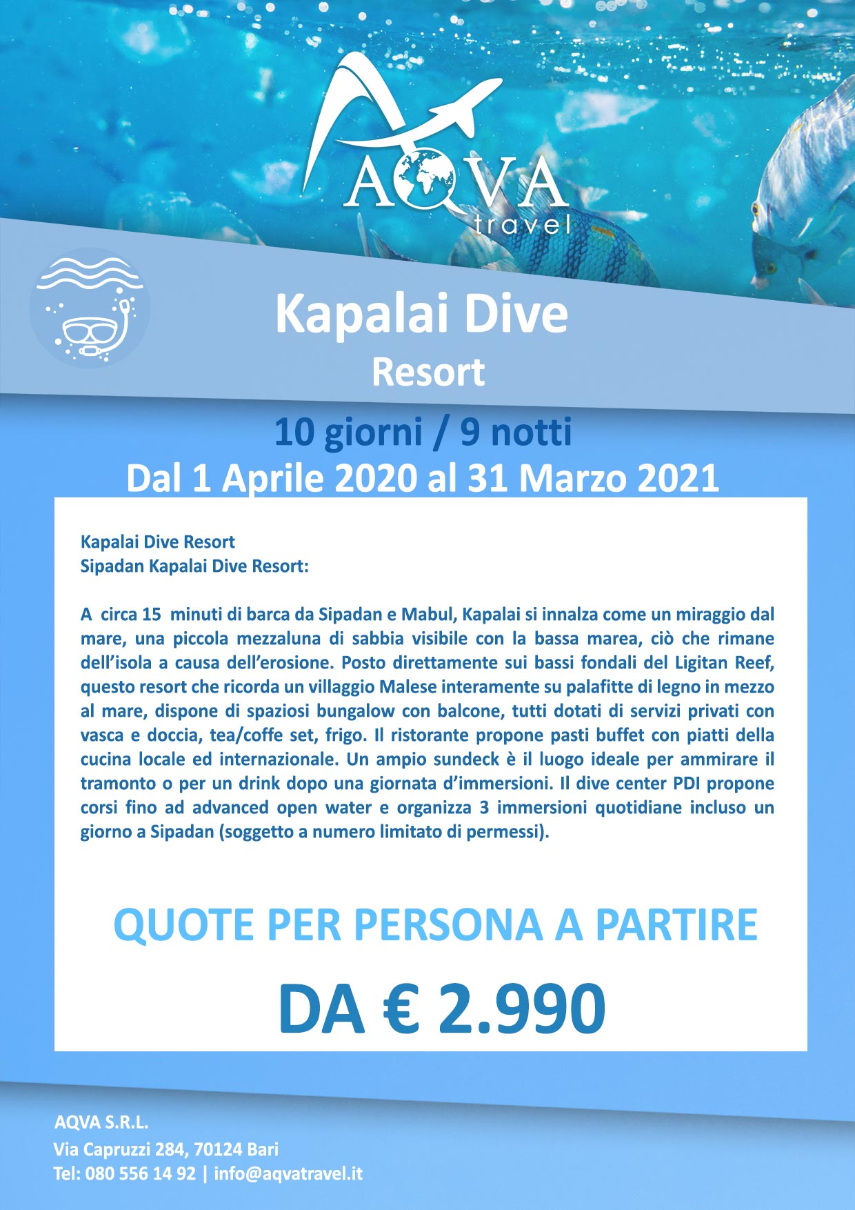 Subacquea-Kapalai-Dive-Resort-subacquea-offerte-agenzia-di-viaggi-Bari-AQVATRAVEL-it