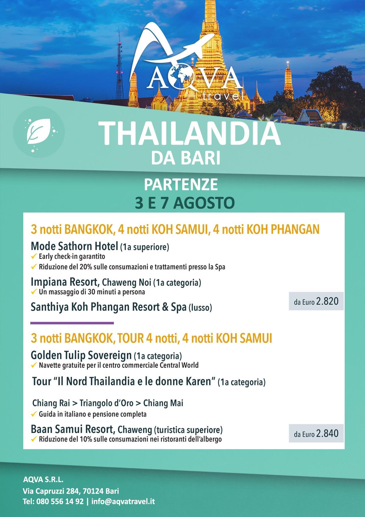 THAILANDIA-DA-BARI-PARTENZE-3-E-7-AGOSTO-NATURA-offerte-agenzia-di-viaggi-Bari-AQVATRAVEL-it
