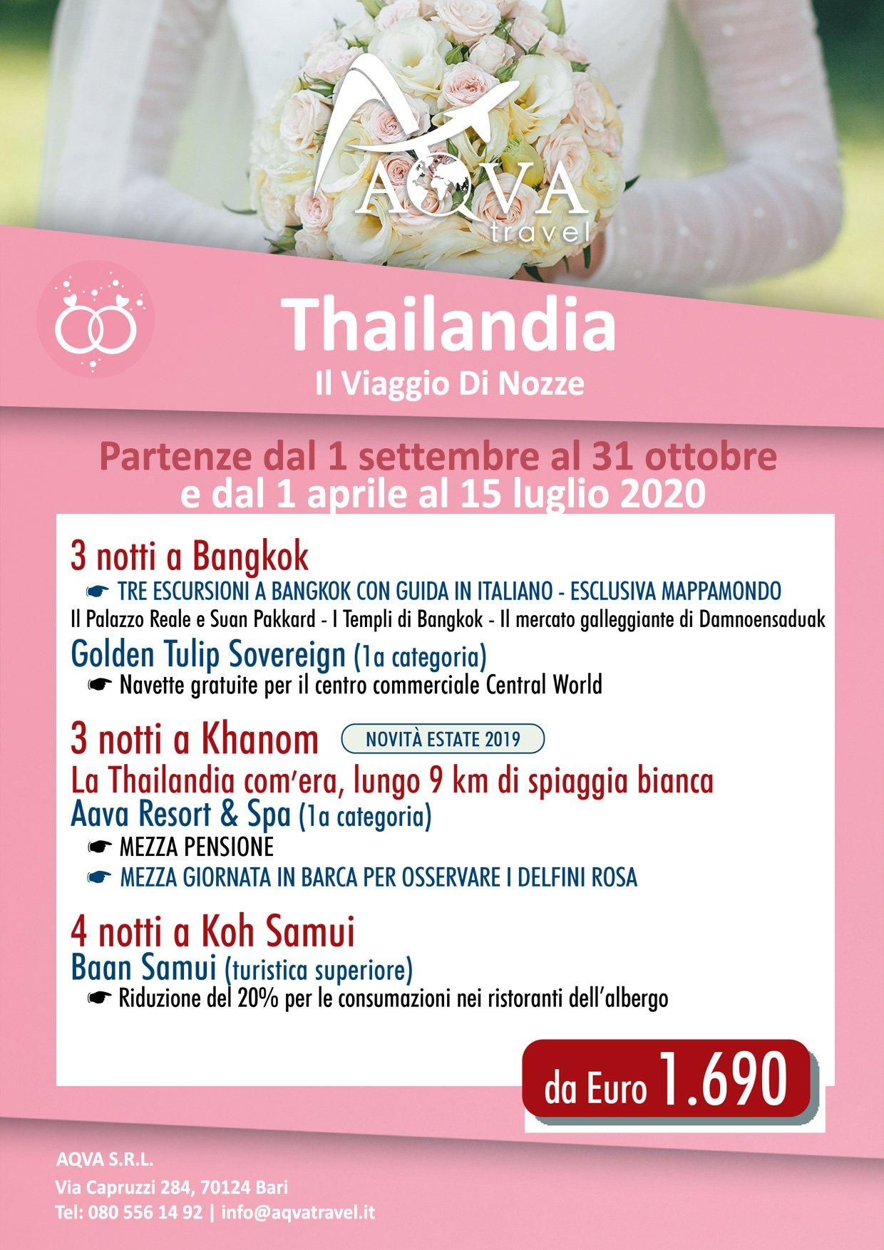 Thailandia-Il-Viaggio-Di-Nozze-offerte-agenzia-di-viaggi-Bari-AQVATRAVEL-it