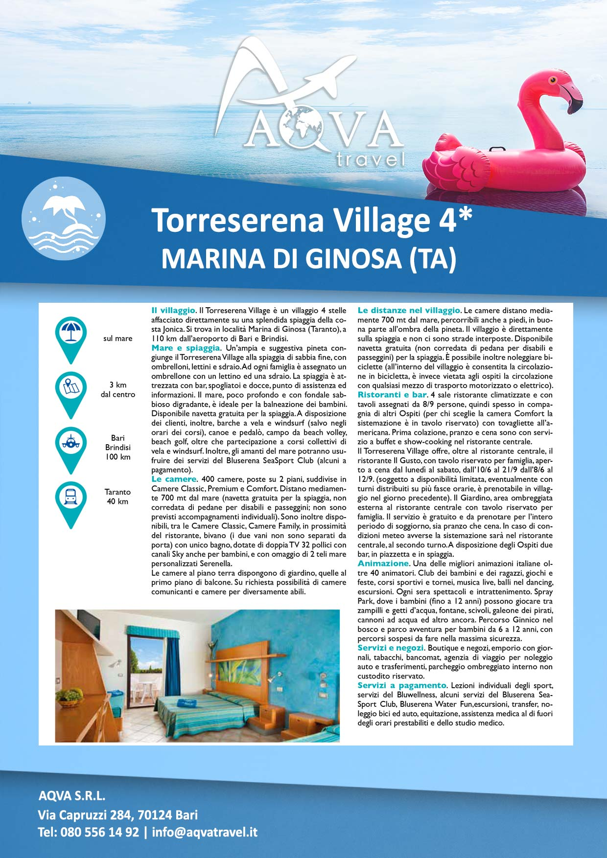 Torreserena-Village-4✶-MARINA-DI-GINOSA-(TA)-Mare-offerte-agenzia-di-viaggi-Bari-AQVATRAVEL-it