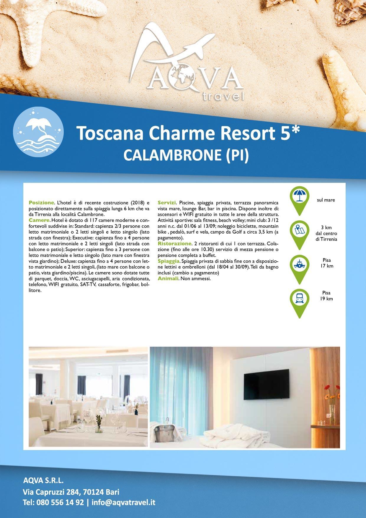 Toscana-Charme-Resort-5-CALAMBRONE-(PI)-Mare-offerte-agenzia-di-viaggi-Bari-AQVATRAVEL-it