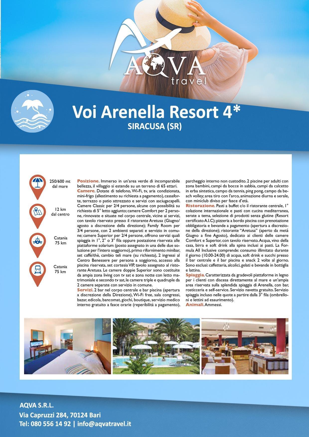 Voi-Arenella-Resort-4-Mare-offerte-agenzia-di-viaggi-Bari-AQVATRAVEL-it