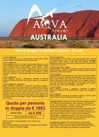 AUSTRALIA PANORAMA Tour di gruppo in italiano 9 giorni / 8 notti