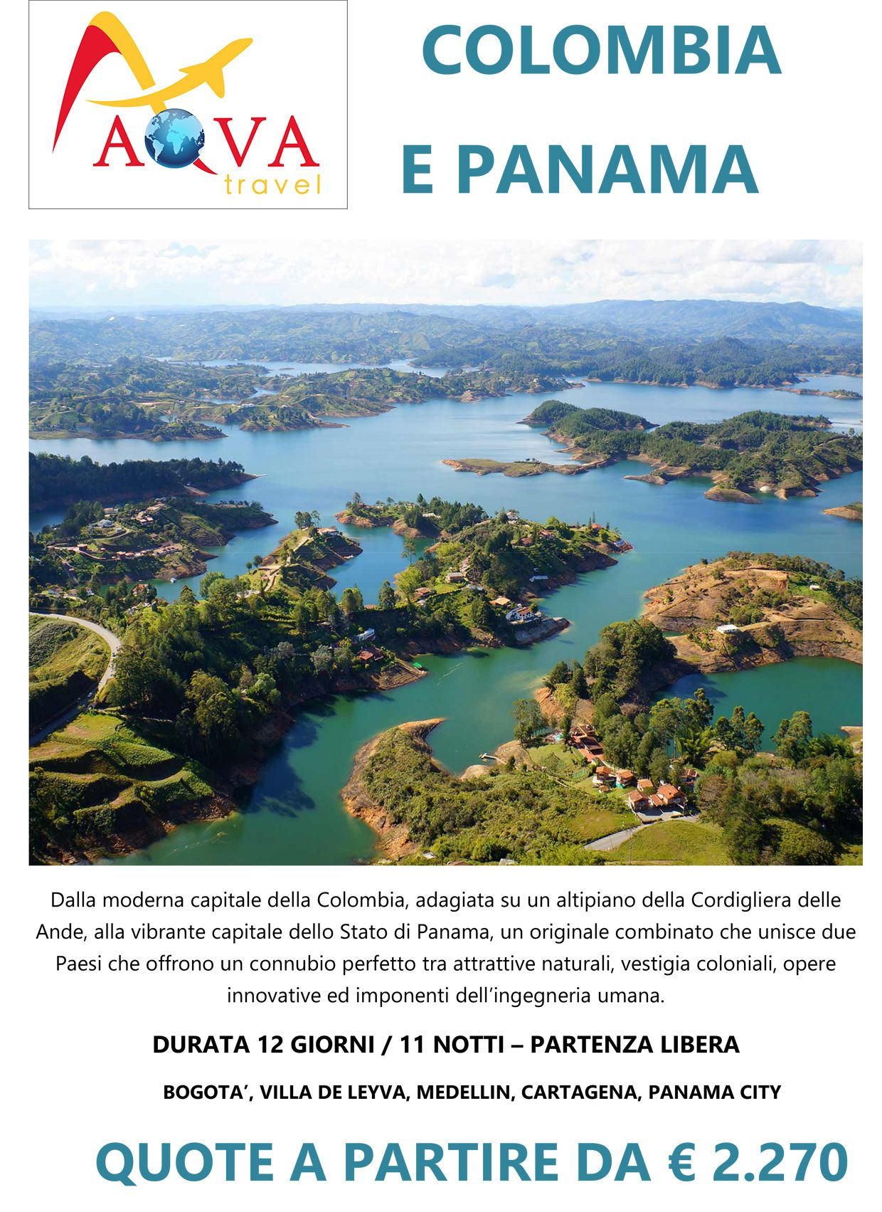 Tour Colombia e Panama