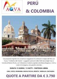 Tour Perù e Colombia