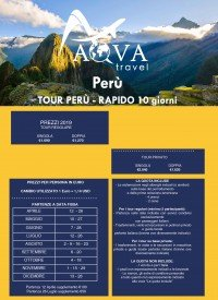 Perù TOUR PERÙ - RAPIDO 10 giorni