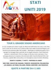 TOUR IL GRANDE SOGNO AMERICANO