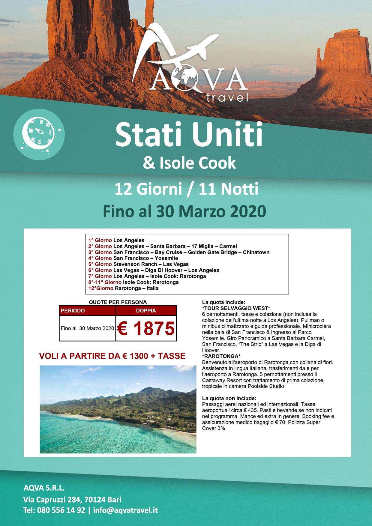 stati-uniti-offerte-agenzia-di-viaggi-Bari-AQVATRAVEL-it